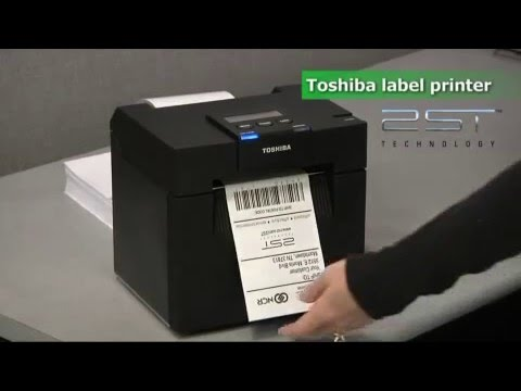 NCR and Toshiba Two Sided Thermal Printing (2ST) Video