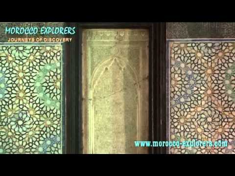 The Saadian Tombs in Marrakesh morocco