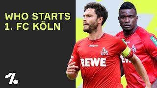 Robin Hack? Streli Mamba? Jhon Córdoba! Die Startaufstellung des 1. FC Köln 2020/2021!