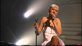 Christina Aguilera - I Love You Porgy - (Grammy Nominations Concert)