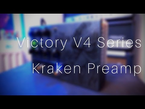 Victory V4 Series Kraken Preamp | THE BEST PEDAL PREAMP?!?