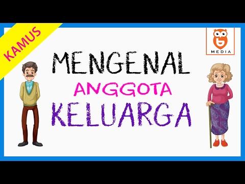Mengenal Anggota Keluarga dalam Bahasa Inggris, Indonesia, Arab, dan Mandarin