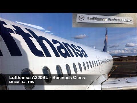 Lufthansa A320 Sharklets | Business Class | Tallinn ✈ Frankfurt | Full HD Trip Report