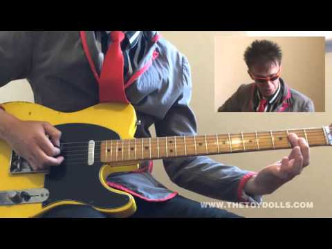Play Guitar With Olga 2015 - Deirdre's A Slag - Intro, verse & chorus