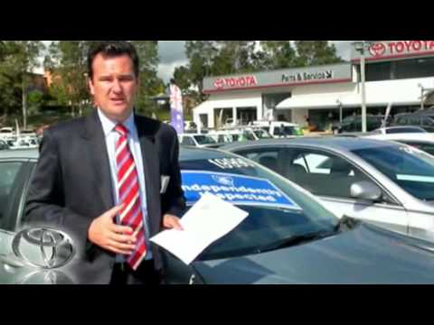 MTA Independent Inspection Used Vehicles Toyota Dealer Sydn