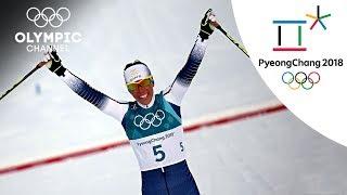 Charlotte Kalla's Cross Country Skiing Highlight | PyeongChang 2018