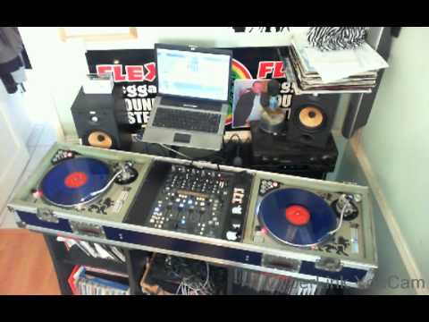 Dj Flex on the 80S Rock Riddim 2013 plus  Verse iTal - Spring Water special