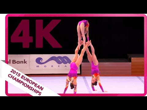 Ely, Bordman, Meaney - Great Britain - Junior all-around final - European Championship 2015