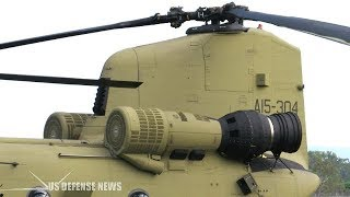 U.s. army upgrades chinook helicopter to fly through 2060
