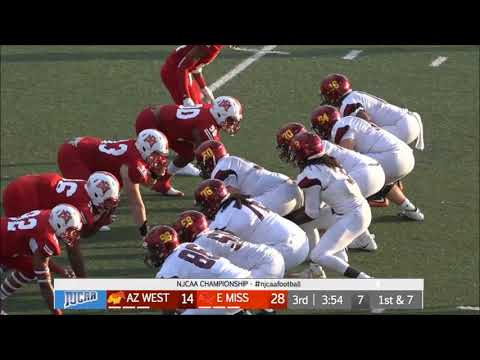 2017 NJCAA Football Championship Highlights