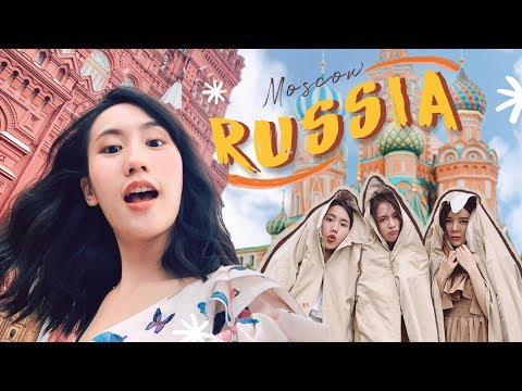 เที่ยวรัสเซีย ♡ ไม่เพลียไม่กลับค้าบบบ | MayyR in Russia - วันที่ 19 Aug 2019