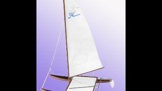 Dumas Hobie Cat Catamaran Sail Boat build photo slideshow