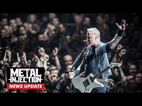James Hetfield Releases Statement Confirming METALLICA Festival Cancelations | Metal Injection