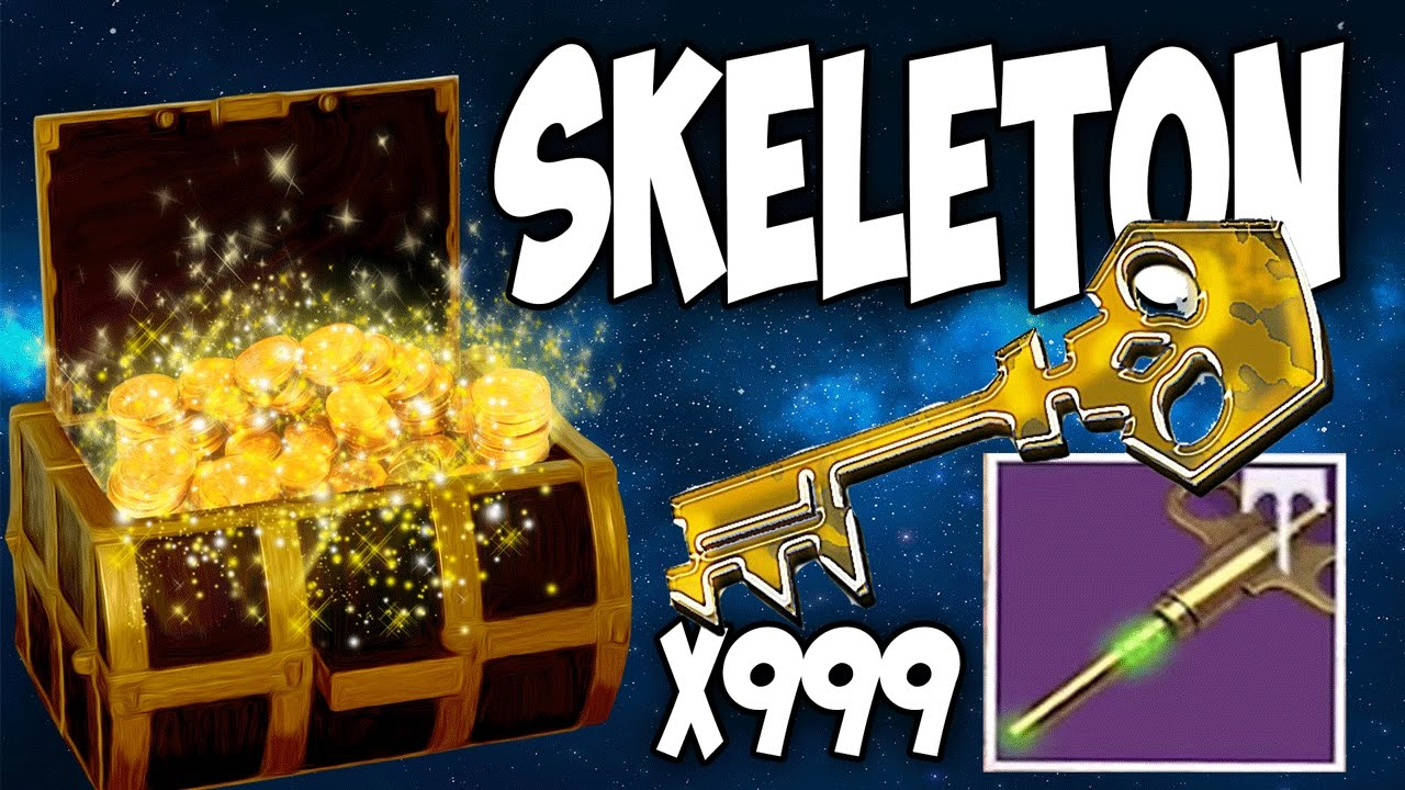 how to get the skeleton key destiny