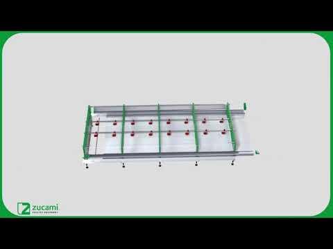 Клетка для перепелок несушек - модель Q