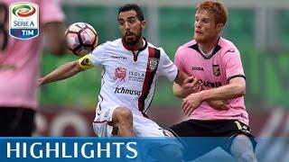 Palermo - Cagliari - 1-3 - Highlights - Giornata 30 - Serie A TIM 2016/17