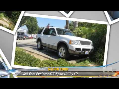 2005 Ford Explorer Xlt Galpin Ford North Hills Youtube