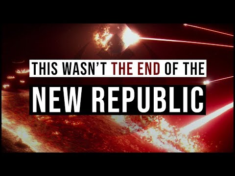 Why the NEW REPUBLIC Navy survived Starkiller (...and could appear in Episode 9)   Star Wars Theory