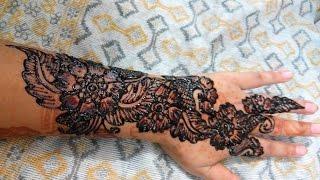 Simple Easy Mehndi Designs - Full Hand Bridal HennaMehndi Designs Tutorial