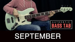 EARTH, WIND & FIRE - September /// Authentic Bass cover - Bruno Tauzin