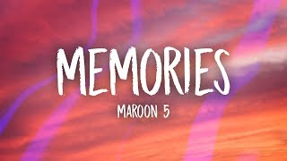 Maroon 5 - Memories (Lyrics) mp3