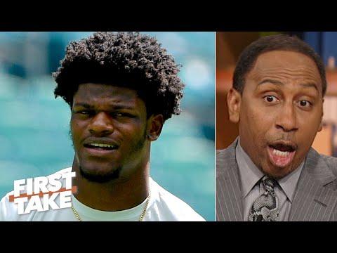 Lamar Jackson isn't an elite QB until he proves he can pass - Stephen A. | First Take