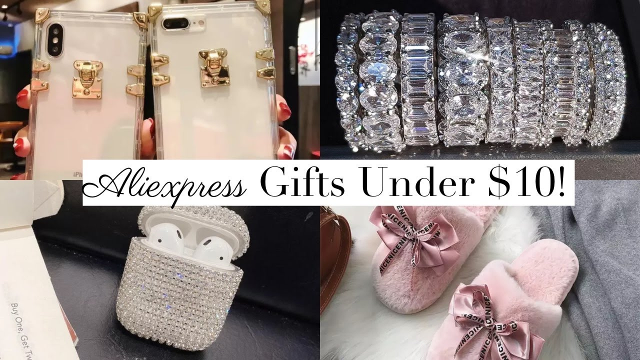 Aliexpress 10 Glam Girly Gift Ideas For Christmas Under 10 Youtube