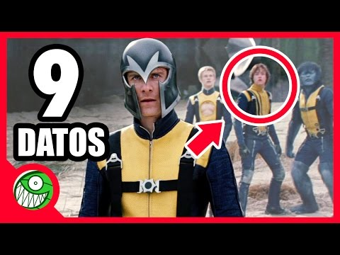 9 curiosidades de X-MEN: FIRST CLASS