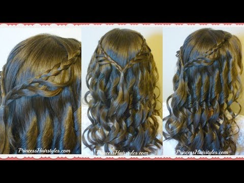 8th-grade-dance-hairstyle-tutorial-and-dress!-princess-hairstyles