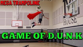 MEGA TRAMPOLINE Game Of D.U.N.K!