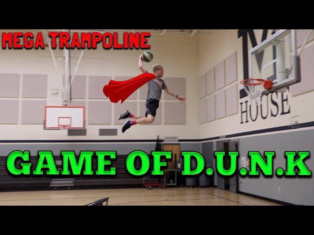 MEGA TRAMPOLINE Spiel von D.U.N.K! video