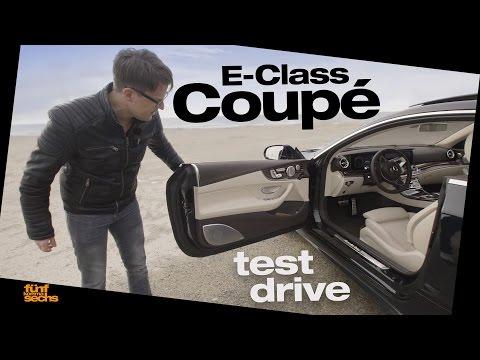 The New Mercedes E-Class Coupé | E 220d and E 350d Review (German)