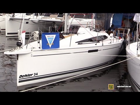 2017 Dehler 34c Sailing Yacht Deck And Interior Walkaround 2016