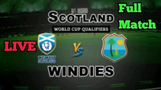 LIVE || WEST INDIES VS SCOTLAND || GAMEPLAY WITH WCC2
