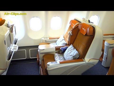 Aeroflot Airbus A330-200 Business Class Moscow - Shanghai [AirClips full flight series]