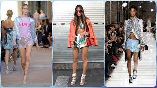 видео С чем носить модные джинсовые шорты 2018-2019 – тенденции, идеи образов, фото