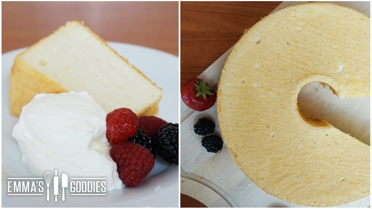 Cake Recipes In Otg Youtube: Angel Food Cake Recipe