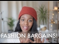 HOW TO FIND ALL THE FASHION BARGAINS! | JOY MUMFORD