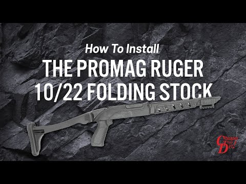 How to Install the Promag Ruger 10/22 Folding Stock