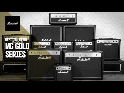 Marshall MG Gold - Product Demo