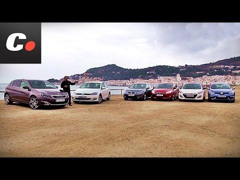 Comparativa Compactos: Peugeot 308, Ford Focus, Hyundai i30, Mégane, Golf, León - Prueba coches.net