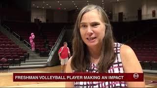 ELN: Freshman Volleyball Player Making an Impact