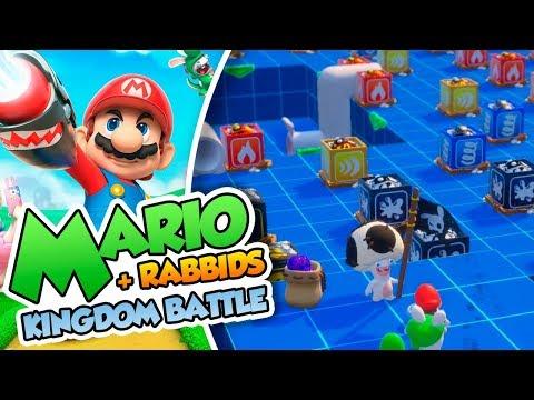 ¡Desafío explosivo DEFINITIVO! - #25 - Mario + Rabbids Kingdom Battle en Español (Switch) DSimphony