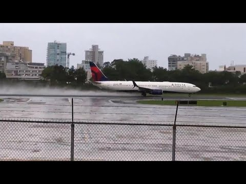 An Inside Look at the Delta Flight That Narrowly Missed Hurricane Irma
