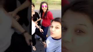 Saharanpur sexy girls chilout on road having fun