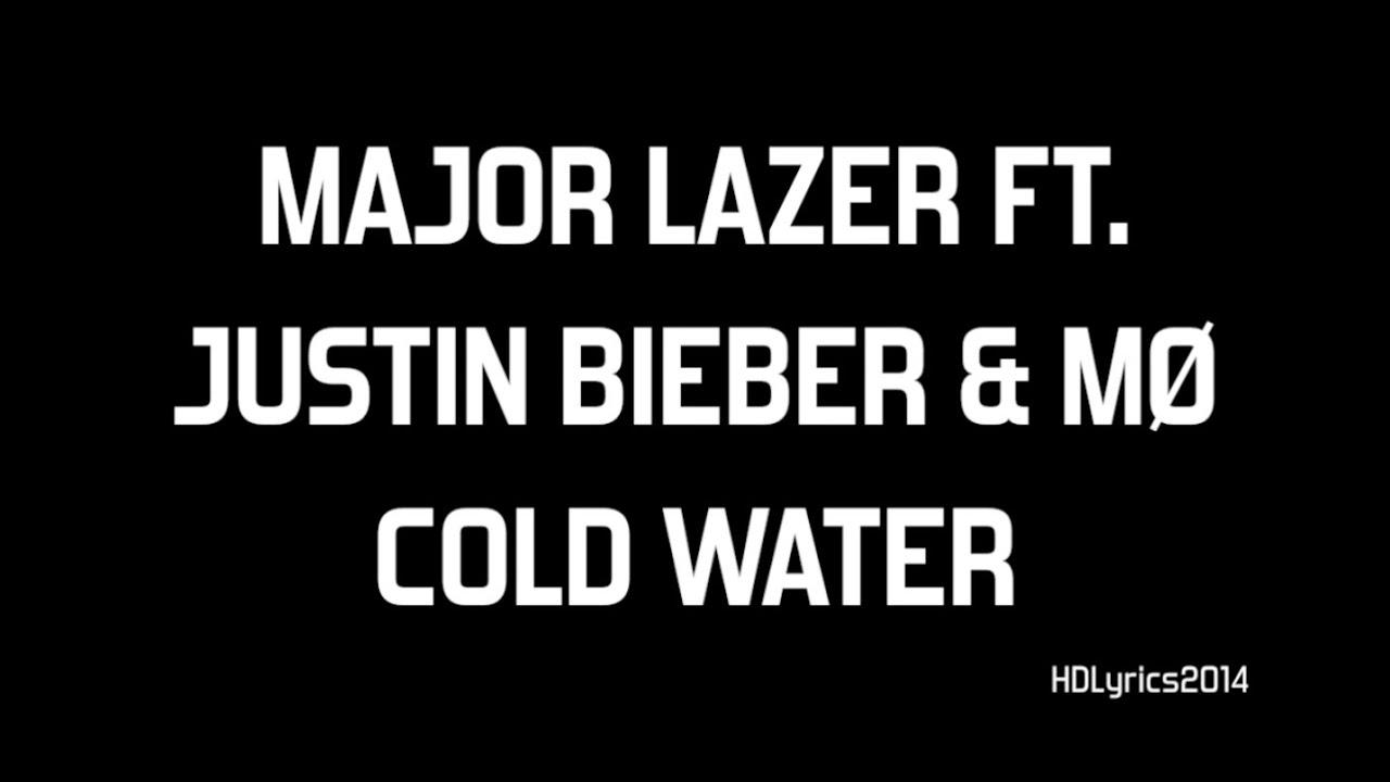 Justin bieber tumblr lyrics live quotes - Justin Bieber M Cold Water Lyrics Youtube