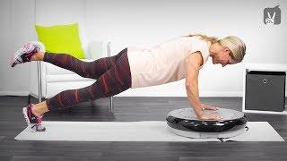 Vibrationsplatten Training: Workout für schlanke und straffe Arme