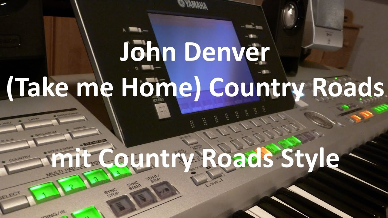 John Denver Take me Home Country Roads Keyboard Cover