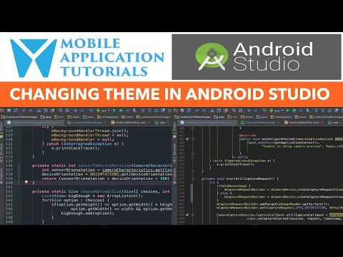 Changing Color Font Theme In Android Studio