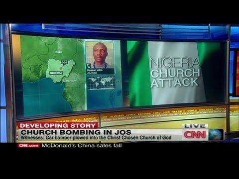 5 killed in church blast in Jos, Nigeria